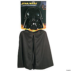 Darth Vader Mask and Cape Costume for Kids