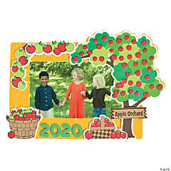 Dated Apple Orchard Picture Frame Magnet Craft Kit