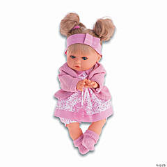 Dato Baby Girl Doll With Pink Onesie