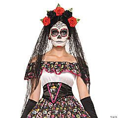 Day of Dead Veil for Women