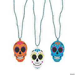 Day of the Dead Bead Necklaces