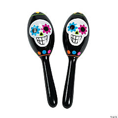Day of the Dead Maracas