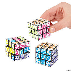 Day of the Dead Mini Magic Cube