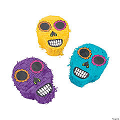 Day of the Dead Mini Piñatas