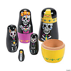 Day of the Dead Nesting Characters