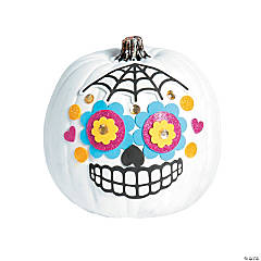 Day of the Dead Pumpkin Decorating Craft Kit