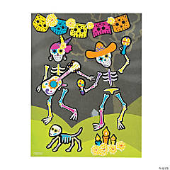 Day of the Dead Sticker Scenes