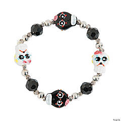Day of the Dead Sugar Skulls Bracelet Craft Kit