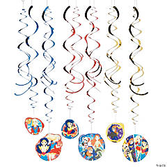 DC SuperHero Girls™ Hanging Swirl Decorations