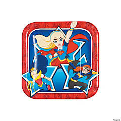 Save on Wonder Woman Party Plates Oriental Trading