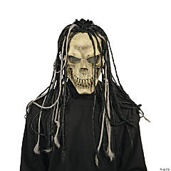 Dead Dread Men's Mask with Hair