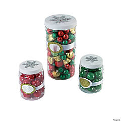 Decorative Christmas Containers Idea