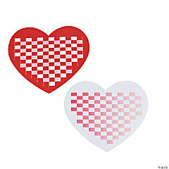 Delightful Heart Weaving Mats