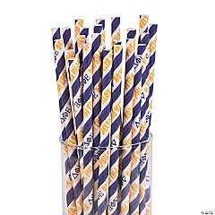 Delta Phi Epsilon Paper Straws