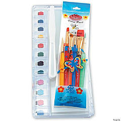 Deluxe Children's Brush And Palette Set