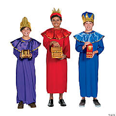 Deluxe Child's Wisemen Costume Kit