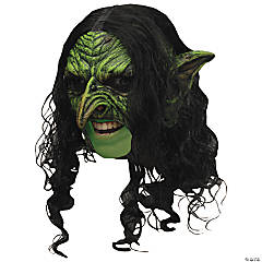 Deluxe Chinless Wicked Witch Mask for Adults