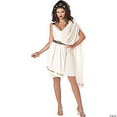 Deluxe Classic Toga Costume for Women