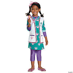 Deluxe Doc McStuffins Pet Veterinarian Costume for Girls