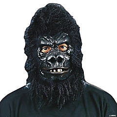 Deluxe Gorilla Mask for Adults