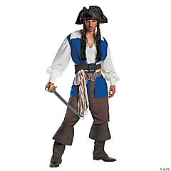 Deluxe Jack Sparrow Costume for Men