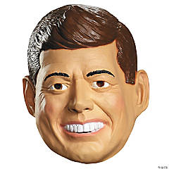 Deluxe Kennedy Mask for Adults and Teens