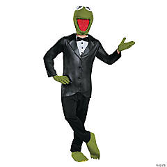 Deluxe Kermit Costume for Adults
