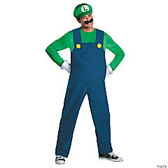 Deluxe Luigi Costume for Men