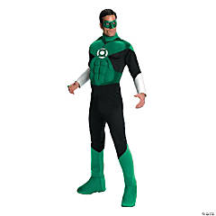 Deluxe Muscle Green Lantern™ Costume for Men