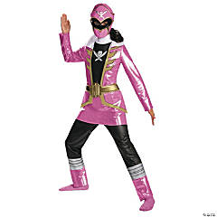 Deluxe Pink Power Rangers Costume for Girls