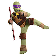 Deluxe Teenage Mutant Ninja Turtle Costume for Boys - Donatello
