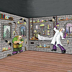 Design-A-Room Mad Scientist Backdrop Pack