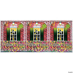 Design-A-Room Mardi Gras Balcony Backdrop