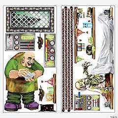 Design-A-Room Monster Backdrop Set