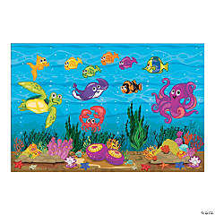 Design-A-Room VBS Under the Sea Backdrop Set