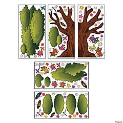 Design-A-Room Walk His Way Tree Backdrop Set