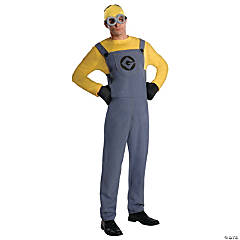Despicable Me 2 Dave Minion Costume for Adults
