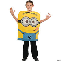 Despicable Me 2 Dave Tunic Minion Costume for Boys