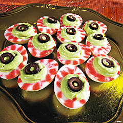 Deviled Egg Eyeballs Recipe