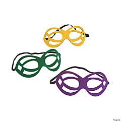 Die Cut Mardi Gras Masks