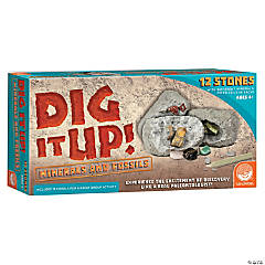 Dig It Up! Fossils & Minerals with FREE Bonus Egg