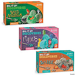 Dig It Up!: Set of 3 Fairies/Wild Animals/Under the Sea