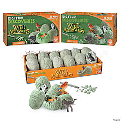 DIG IT UP! Wild Animals: Set of 3