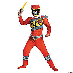Dino Classic Red Ranger Costume for Kids