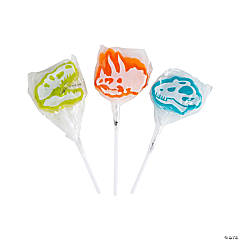 Dino Dig Character Lollipops