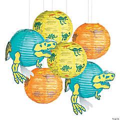 Dino Dig Hanging Paper Lanterns