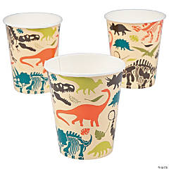 Dino Dig Paper Cups