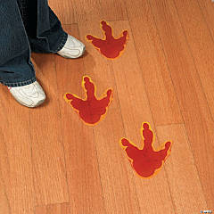 Dino-Mite Footprint Floor Decals