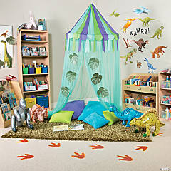 Dinosaur Classroom Reading Corner Idea