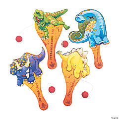 Dinosaur Paddleball Games